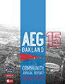 Thumbnail preview for 2014-15 AEG Oakland Community Annual Report