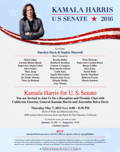 Kamala Harris Flyer