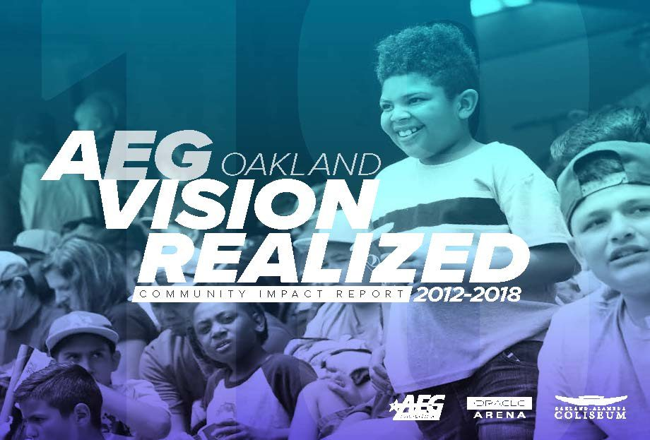 Thumbnail preview for 2012-18 AEG Oakland Community Impact Report